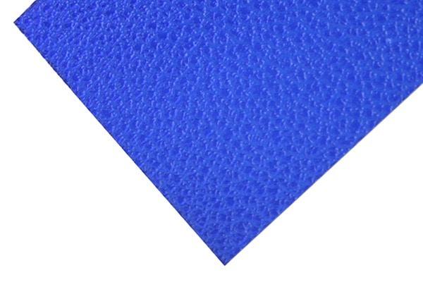 ブルー エンボス加工ポリカーボネート板