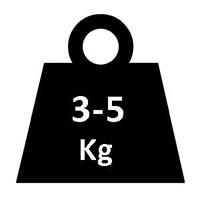 ライオットシールドの重量