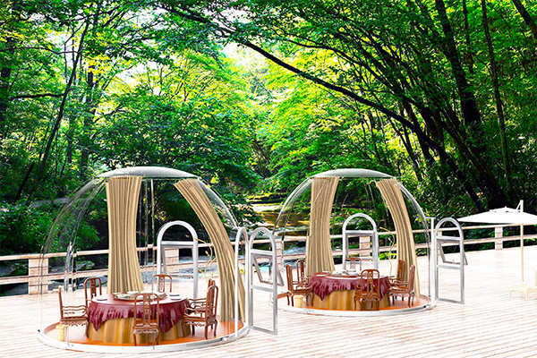 5m グランピングレストラン