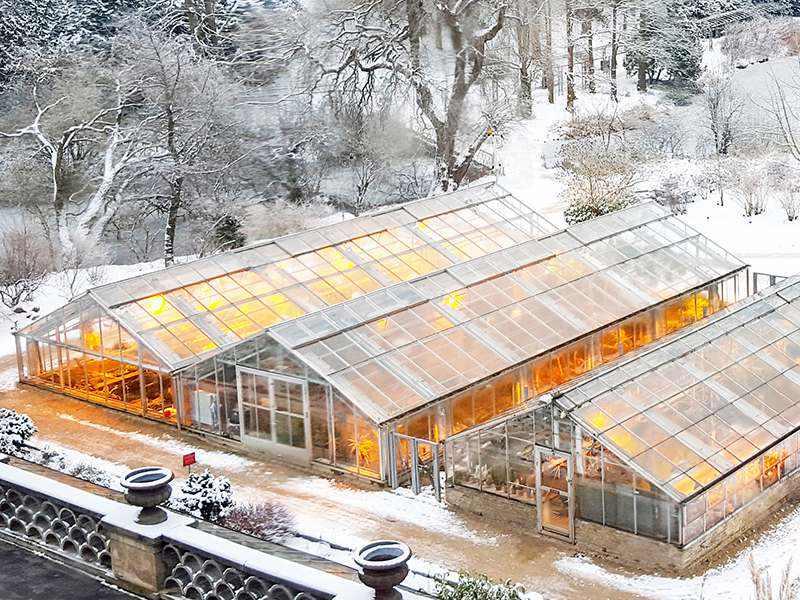 ポリカーボネート温室屋根