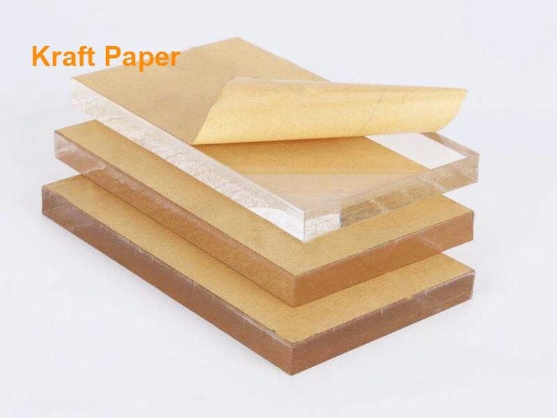 クラフト紙付きアクリル板