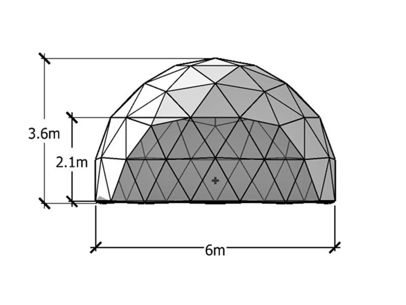 6m ジオデシックドーム