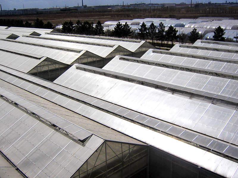 ツインポリカの温室