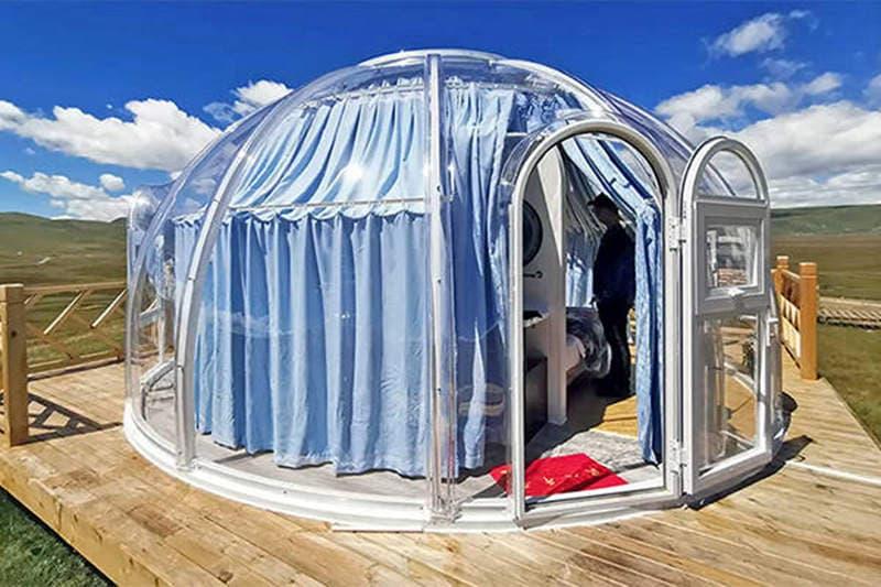 VIEWSKYグランピングバブルドーム
