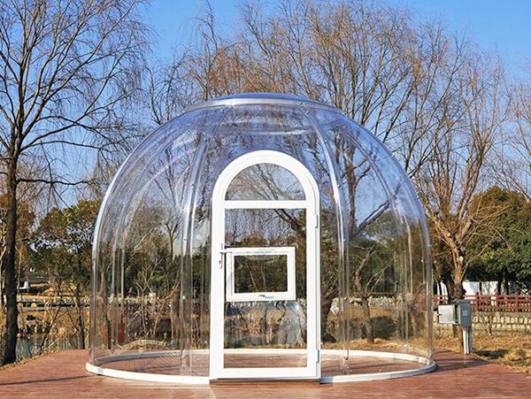 3.5メートルのバブルテント