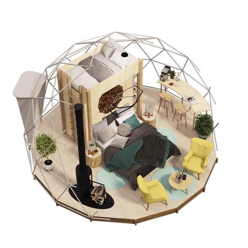 ジオデシックドームテント