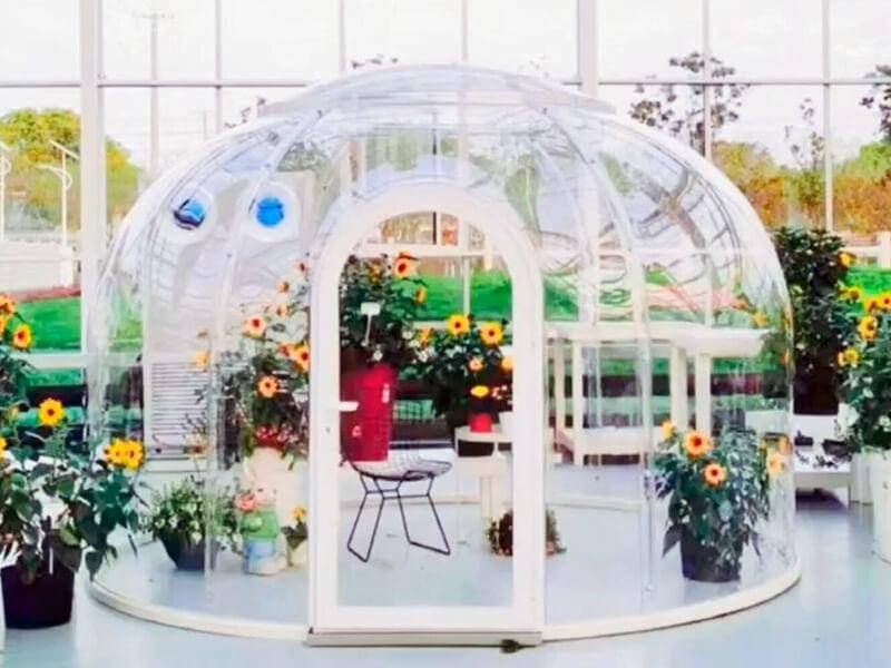 ドーム温室
