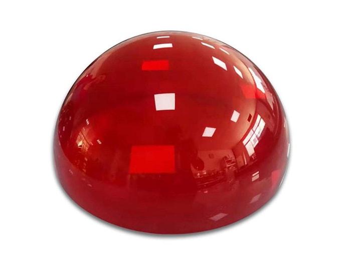 赤アクリルドーム