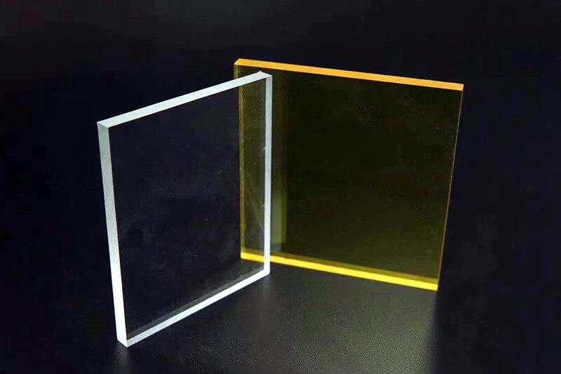 透明カラーアクリル板
