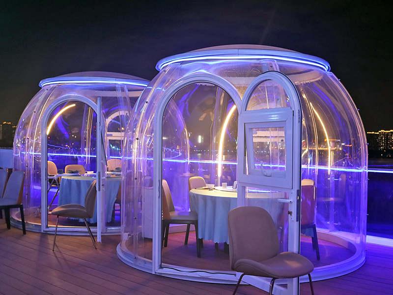 バブルドームレストラン